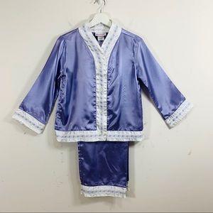 American Girl Kimono pajamas size Medium Nellie